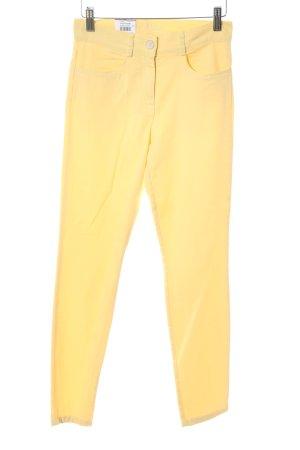 Brax Jeans stretch jaune primevère style décontracté