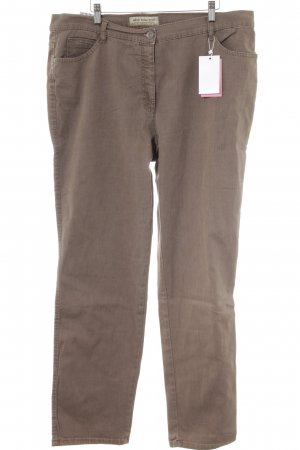 Brax Stretch Jeans graubraun meliert Casual-Look