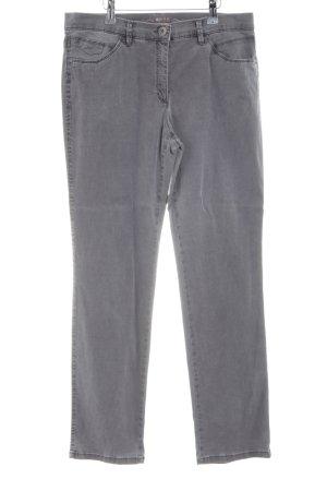 Brax Stretchhose grau schlichter Stil