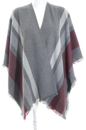 Brax Poncho in maglia multicolore stile casual