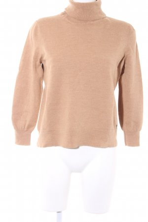 Brax Strickpullover camel Business-Look