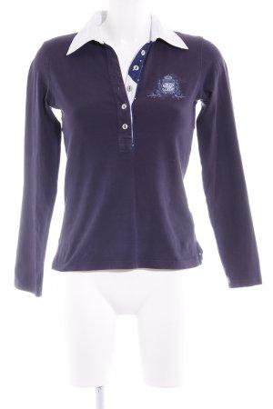 Brax Sweatshirt dunkelblau Casual-Look