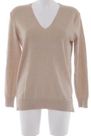 "Brax V-Ausschnitt-Pullover ""Lana"" beige"
