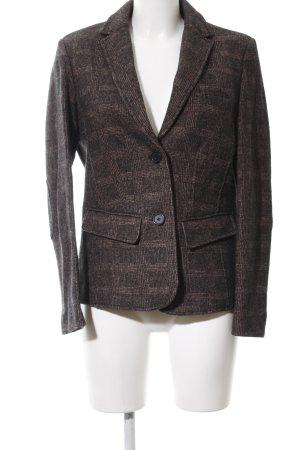 Brax Woll-Blazer braun-schwarz Karomuster Business-Look