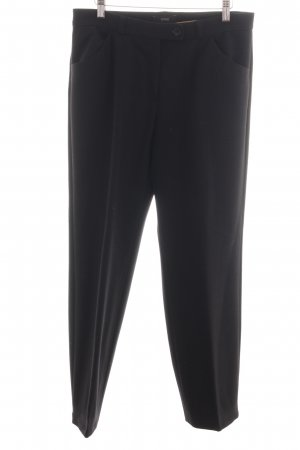 Brax Wollhose schwarz Business-Look