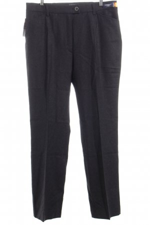 Brax Woolen Trousers anthracite business style