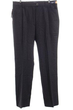 Brax Wollen broek antraciet zakelijke stijl