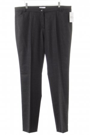 Brax Woolen Trousers anthracite flecked business style