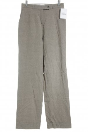 Brax Woolen Trousers oatmeal-light brown flecked classic style