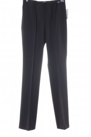 Brax Wollen broek zwart zakelijke stijl