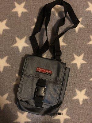 Mini sac argenté-gris