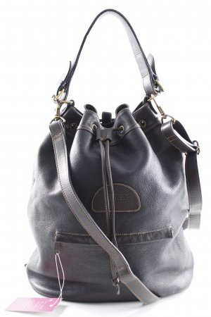 Bree Pouch Bag black brown casual look