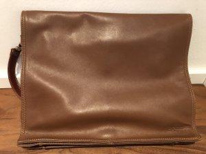 Bree Briefcase cognac-coloured