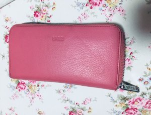 BREE Geldbörse Portemonee Rosa Pink Ledertasche