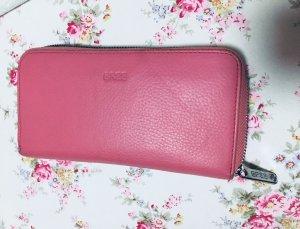 Bree Cartera rosa-color plata