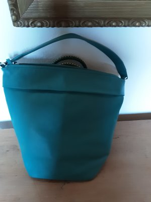 Bree, große Tasche, neueres Modell, Leder türkisfarben
