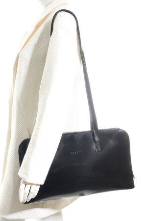 Bree Handtasche schwarz Glanz-Optik