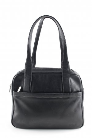 Bree Henkeltasche schwarz Business-Look