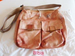 Bree Shoulder Bag beige-dusky pink leather