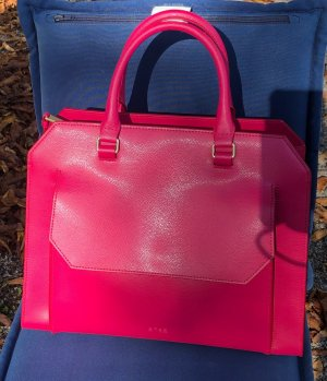 Bree Carry Bag raspberry-red leather