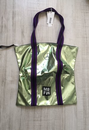 Bree Mercedes-Benz Fashion Week 2018 Tasche Bag, grün-metallic