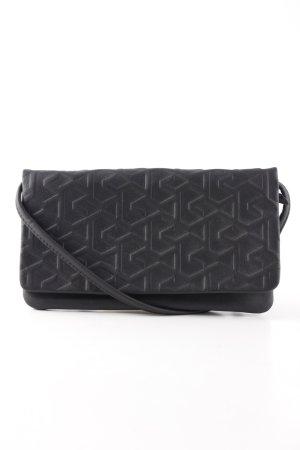 Bree Minitasche schwarz abstraktes Muster Casual-Look