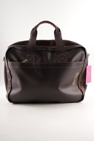 Bree Laptop bag dark brown business style