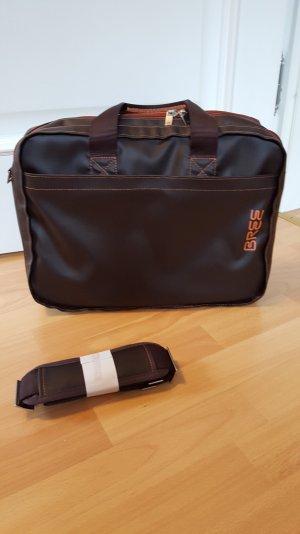 Bree Notebooktasche Punch 67, mokka-orange