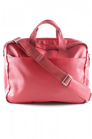 Bree Notebooktasche rot meliert Business-Look