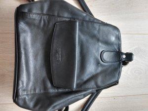 BREE Rucksack Leder (schwarz)