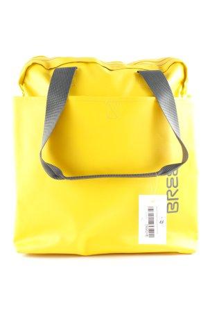 Bree Schultertasche gelb-grau sportlicher Stil