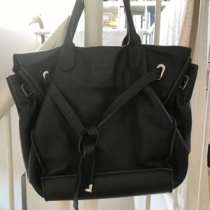 Bree Shopper black leather