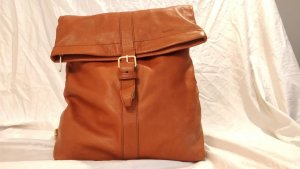 Bree Backpack cognac-coloured leather