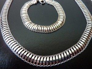 breite Gliederkette Armband Schmuckset Harry Evans unisex Schmuck silber Statementkette Weihnachtsgeschenke für Sie