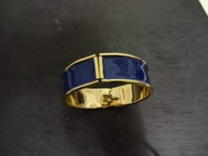 H&M Bangle gold-colored-blue