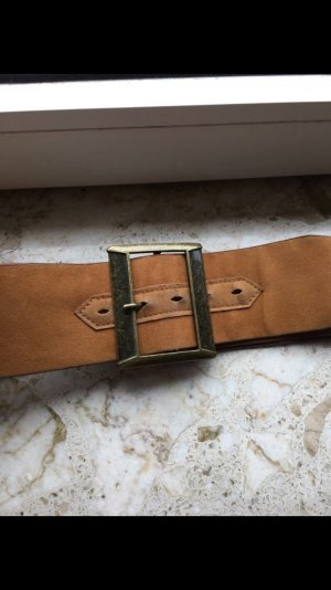 Pieces Waist Belt bronze-colored