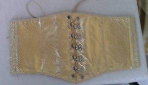 Breiter Gürtel, Gr. XS/S, gold