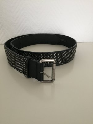 Zara Belt black-silver-colored