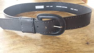 Leather Belt black brown