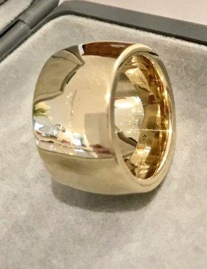 Breiter Ring 585 Gelbgold Größe 21mm, 37 Gramm