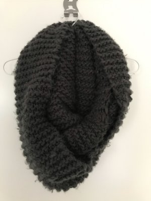 Pieces Tube Scarf anthracite