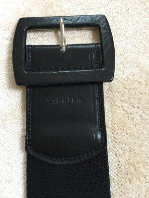 Calvin Klein Cintura vita nero Pelle