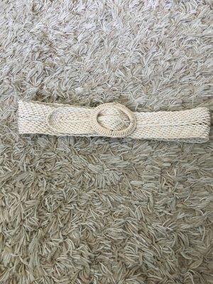 C&A Cintura intrecciata beige chiaro-crema