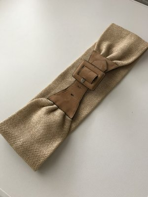 Marc Cain Fabric Belt sand brown mixture fibre