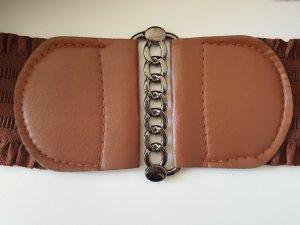 Waist Belt brown synthetic fibre