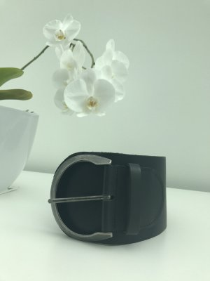 Tom Tailor Belt black-silver-colored