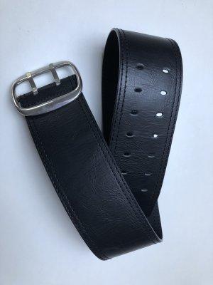 H&M Tailleriem zwart-zilver
