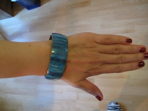 Bangle light blue