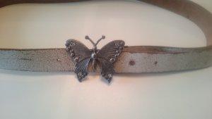 Edc Esprit Belt white leather