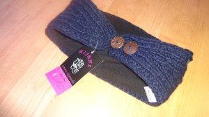 breites Stirnband Wolle + Fleece